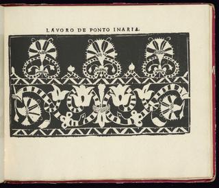 "Facsimile by Bernard Quaritch of ""Studio delle virtuose dame"" by Isabella Catanea Parasole; first published in Rome by Antonio Faechetti in 1597."