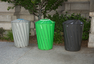 Central Park Conservancy Waste And Recycling Receptacle System, Central Park Conservancy Waste and Recycling, 2014