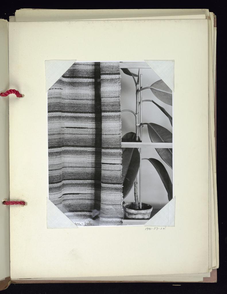 Twenty-one samples of upholstery fabric; six photographs of fabrics.
