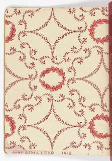 Sample Book, Alfred Peats Set A Book No. 5