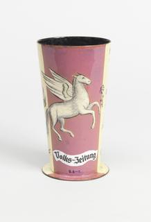 Volks-Zeitung Vase