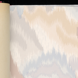 Traditional historic styles mostly inspired by 18th and 19th century wallcoverings. Patterns include fabric and ribbon, strie, and large-scale floral designs based on Chinese hand painted papers. This line created in celebration of the company's 25th year.