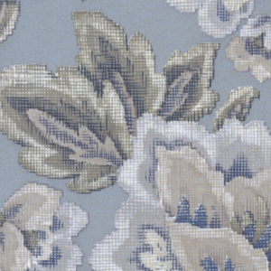Collection of cooordinated fabrics and wallcoverings. Gravure printed on 100% polyester fabric.