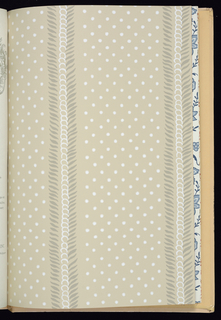 Fine wallpapers with borders and related fabrics. Patterns include Avalon, Banyan, Berkeley Square, Beverley, Blair, Brandon, Brunswick, Bruton Damask, Burdette, Cherry Hill, Delft Tiles, Diamond Floral, Hopewell, Kent, Langley, Liverpool Birds, Lynn, Milford, Oakhall, Portsmouth Pineapple, Potpourri, Princess Anne, Shir O Shakkar, Snowhill, Windsor Rose, and Winterberry. Each design is shown in a documentary colorway along with additional colorways. Coordinated fabric swatches are included. Also included with this sample book are 36 tear sheets in full color showing other K&W Williamsburg collection wallpapers in situ.
