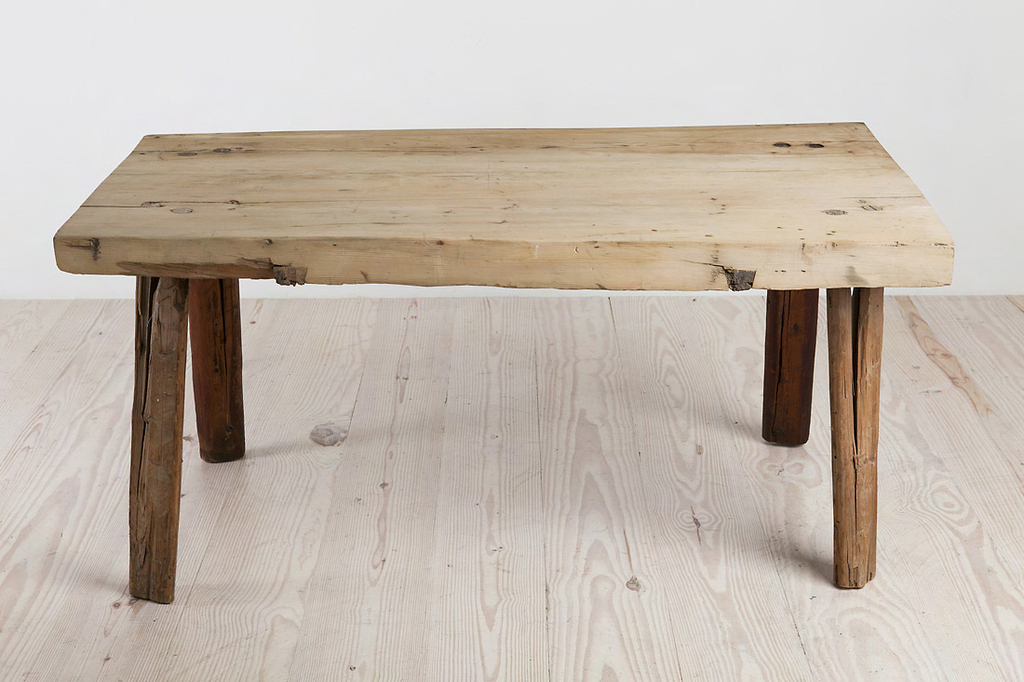 Four-legged table