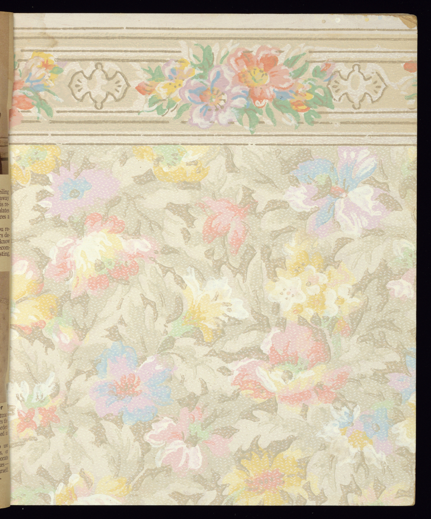 Sample Book Ward S Wallpaper And Paint 1936 Objects