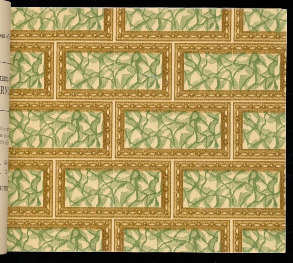 Sample Book, The Larkin Wallpaper Book, No. 4, ca. 1910