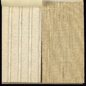 Collection of wall fabrics and textures, composed of natural fibers. Wide ragne of weaves, colors and textures.