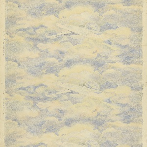 Sidewall, The Lindbergh, 1927, Cooper Hewitt, Smithsonian Design Museum