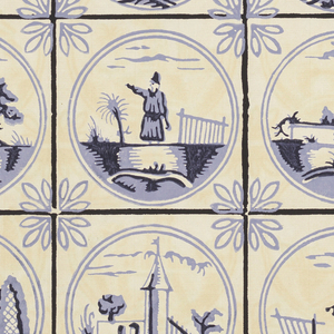 "43 examples of wallpaper, some of which have color alternates. 8 have border and chair rail schemes attached. Included are designs in the style of the late 18th century and French Empire period. Several ""plaid"" and marbleized patterns, also."