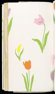 Sample Book, Rainbow Garden, Vol. 46, 1976