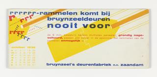Blotter, rrrrrr-rammelen komt bij bruynzeeldeuren nooit voor (Bruynzeel Doors Never Rattle)