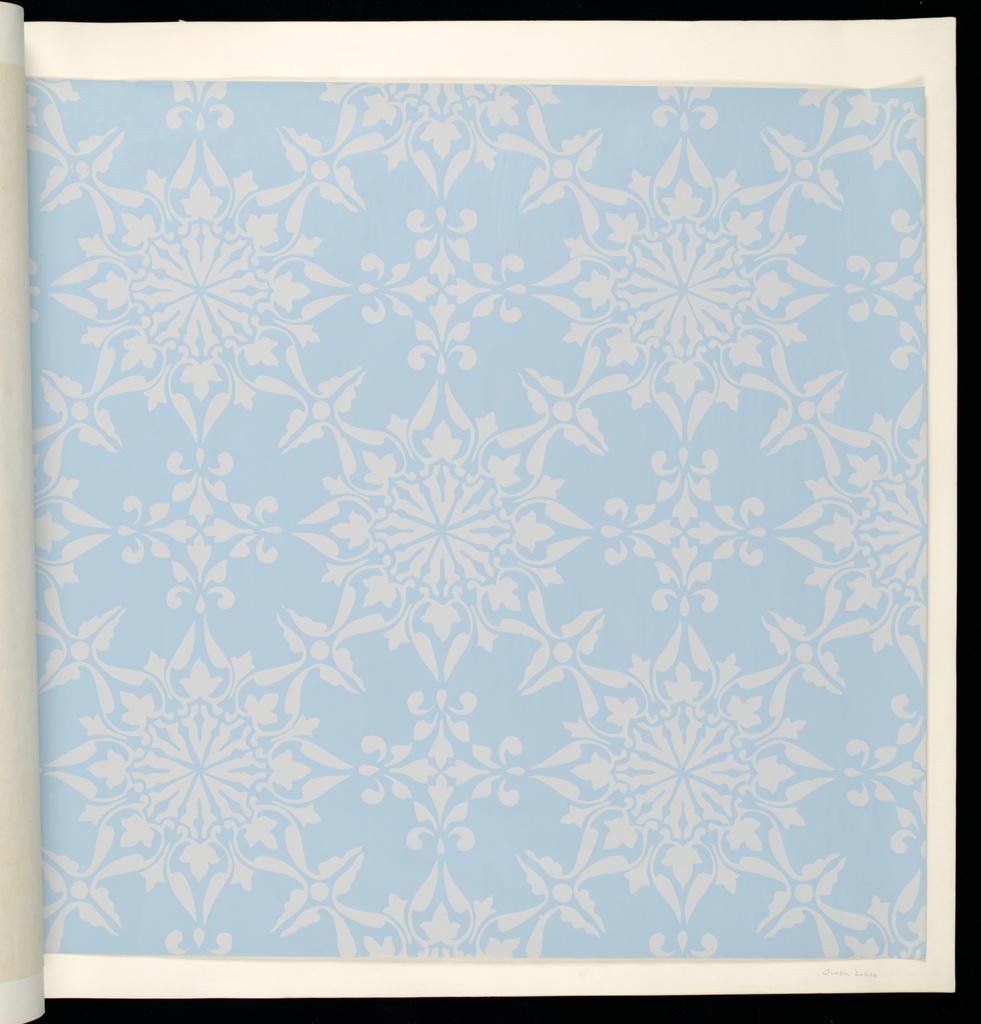 Eighteen samples of eleven different designs by Owen Jones, William Burges, G. W. Godwin, A.W.H. Pugin.