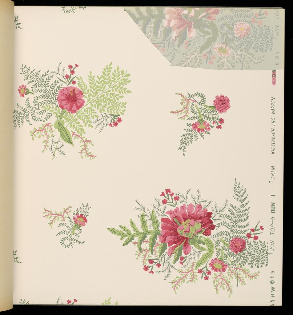 Sample Book, Katzenbach & Warren Book #12