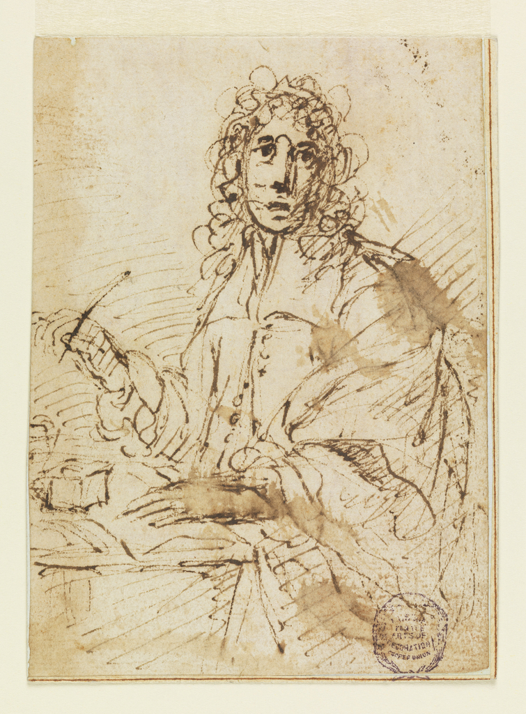 Drawing, Portrait of a Prelate