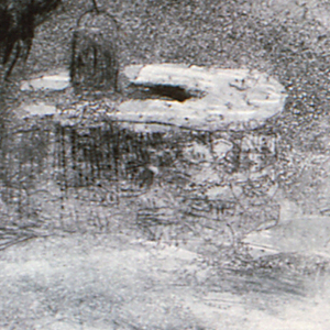 Print, Old Well at Fort Niagara