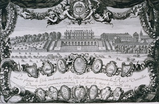 Print, Versailles, Gardens, The Pleasures of the Enchanted Isle.