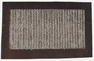 Katagami, Undulating Wave Pattern