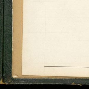 Oblong book, bound in dark green leather, with flap and metal clasp, contains 150 numbered pages of descriptions, analysis, weave diagrams and samples of gauzes, with mises-en-carte for many. 91 small samples.
