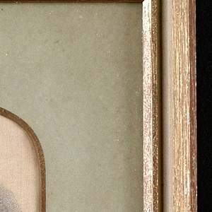 Woven portrait of Queen Alexandra.