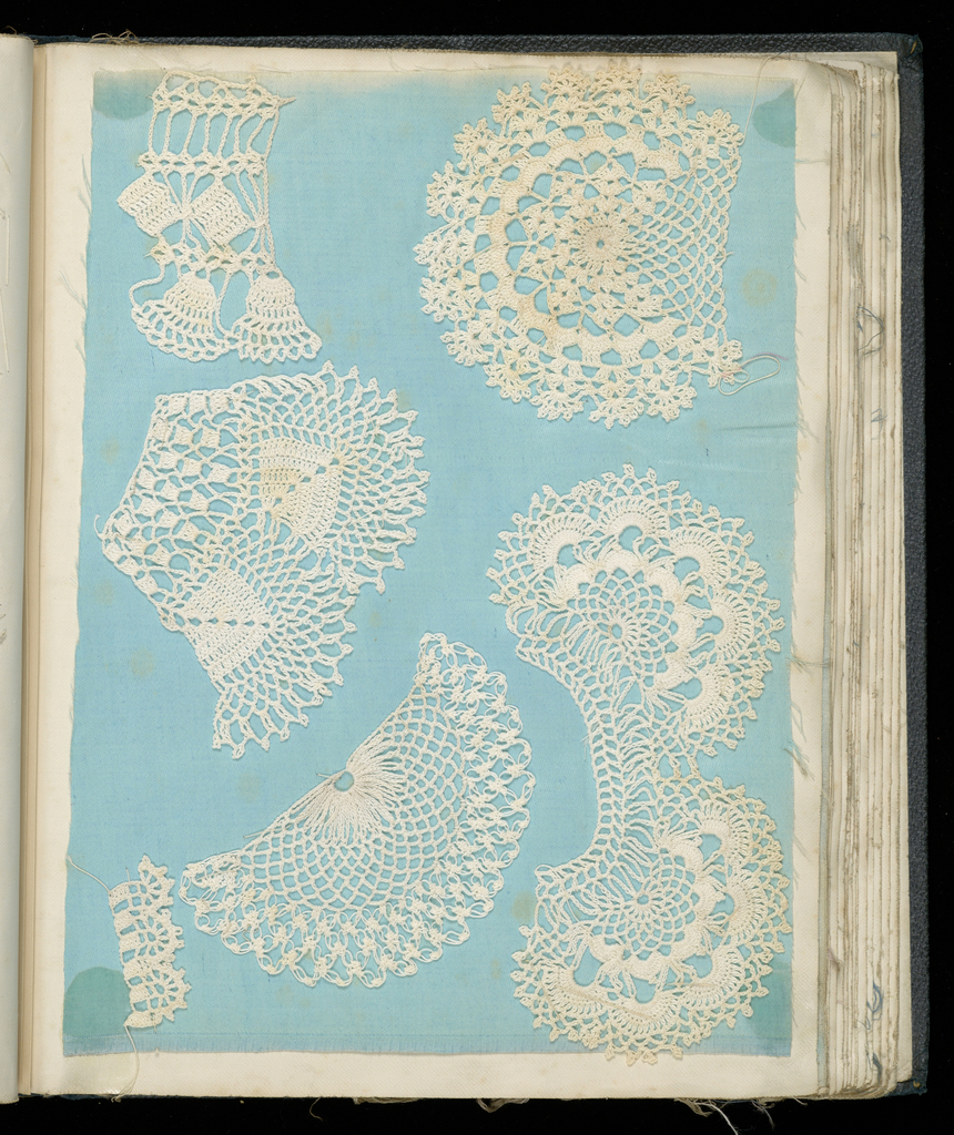Crochet Sample Book (possibly England)