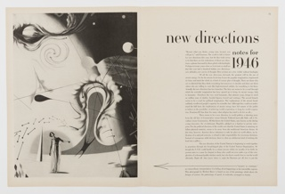 Print, New Directions, Notes for 1946