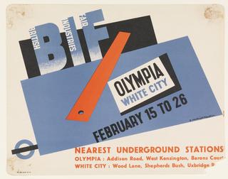 Poster, British Industries Fair