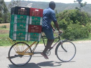 Big Boda Load-Carrying Bicycle, 2002–05
