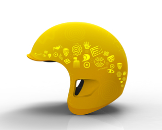 bePRO motor-taxi helmet, 2009–11