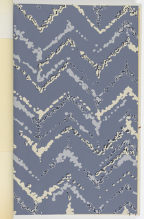Pastel colored designs including plaids, irregular stripes, birds and seemingly random brush strokes.  Small patterns on open backgrounds. 13 different designs, each shown in multiple colorways.