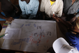 Map Kibera
