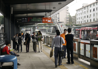 Guangzhou Bus Rapid Transit System, 2004–2010