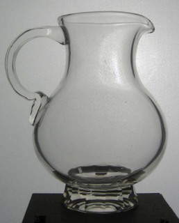 No. 235 Water Pitcher With Handle, ca. 1920