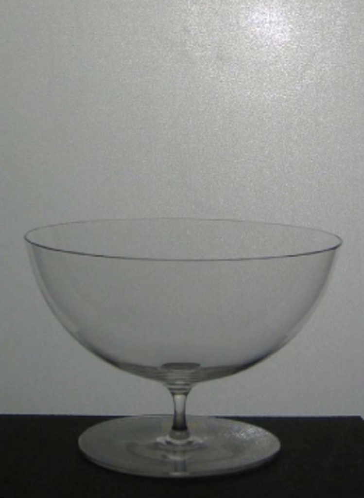 """Thinnest mouth-blown crystal (""""Muslin glass"""")"""