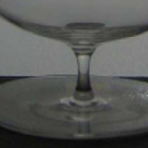 "Thinnest mouth-blown crystal (""Muslin glass"")"