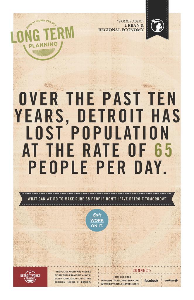 Detroit Future City, 2010–13