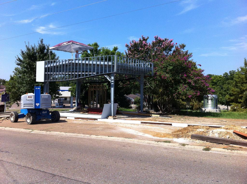 SuperUse Pavilion, 2012–14