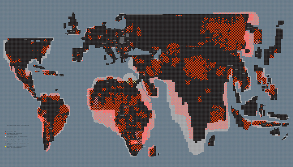 Informal Settlement World Map, 2011