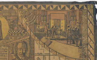 Mural Detail, The World of Radio