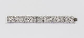 Bracelet, Flowerhead, ca. 1925