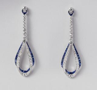 Elliptical Earrings, 1924