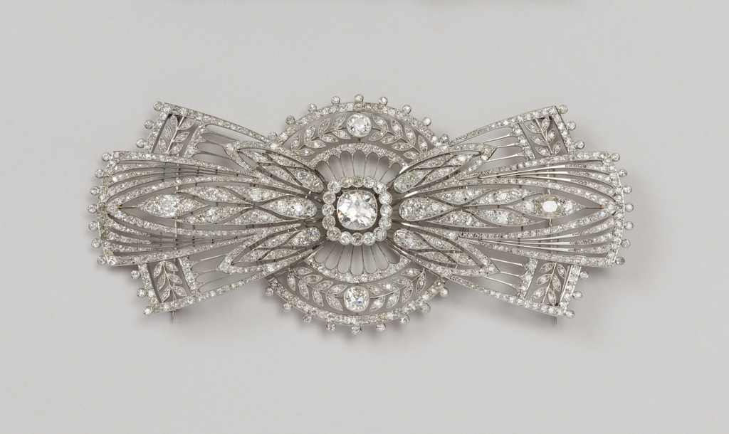 Bow Brooch, ca. 1920