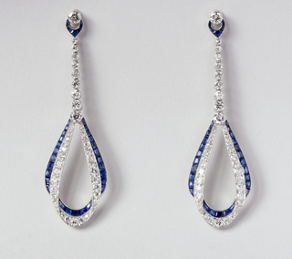 Elliptical Earrings, 1924