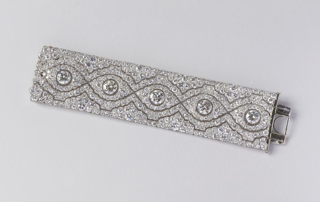 Wide Band Bracelet