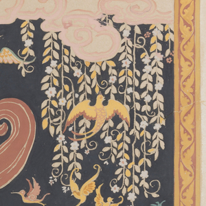 Drawing, Textile Design: The Enchanted Isle of Beautiful Sounds