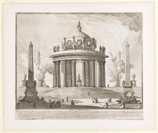 Print, Venus Genitrix: Fireworks, 1747