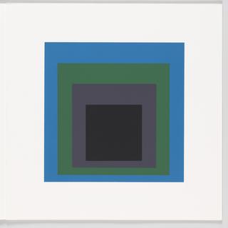 Print, Porta Negra, Homage to the Square, Soft Edge – Hard Edge