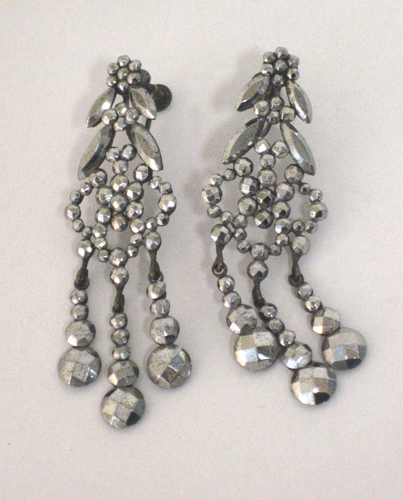 Pair Of Earrings (USA), 1860–1910