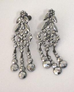 Pair Of Earrings (USA), 1860–1910