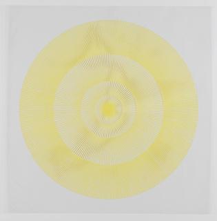 "Print, ""yellow"", Plate 22, ""Color/Moire"" Portfolio"